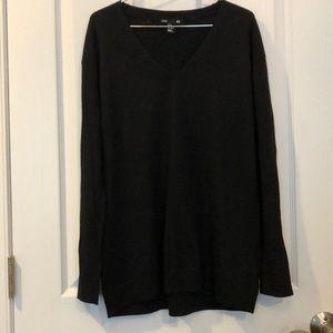 H&M Basic Black V neck Sweater